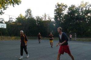Tanár-diák focimeccs